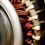 Electric motor  maintenance with copper wire