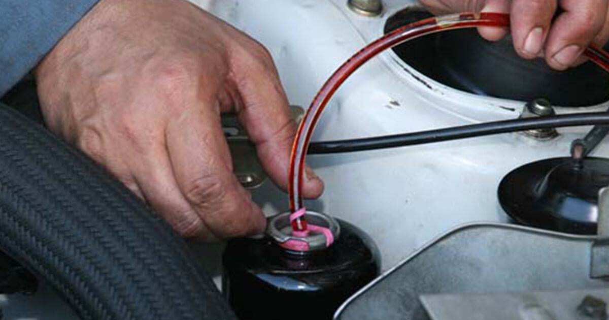 How To Flush And Bleed Power Steering Systems Mobil