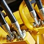 Hydraulic oil for pressure pipe machinery